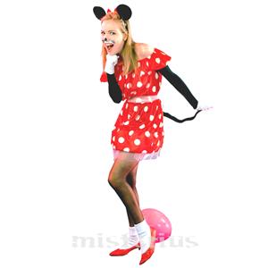 Fato Ratinha Minnie, Adulto