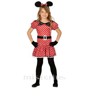 Fato Ratinha Minnie, criança
