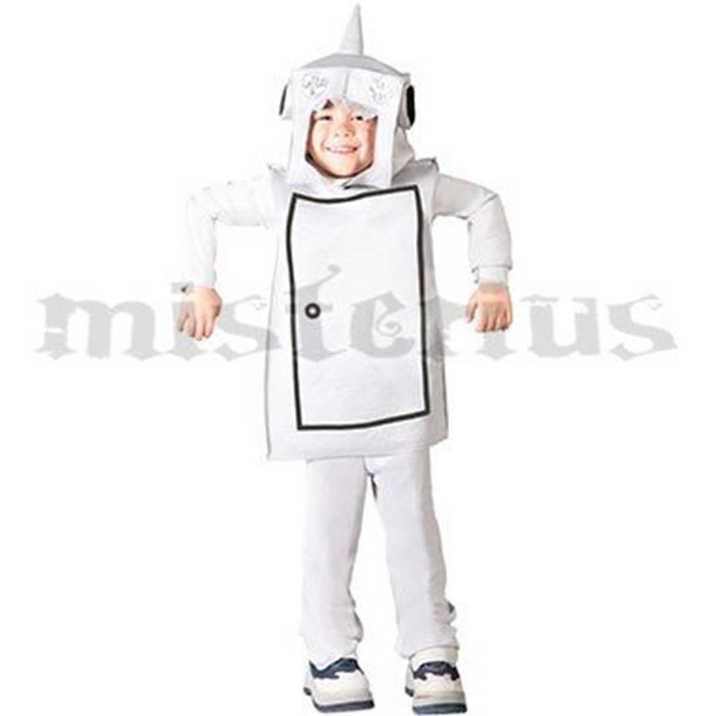 Fato Robot, criança