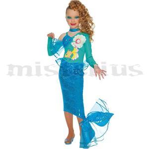 Fato Sereia Azul, Criança