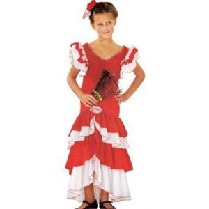 Fato Sevilhana Espanhola, criança