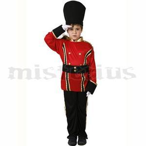 Fato Soldado Vermelho, criança