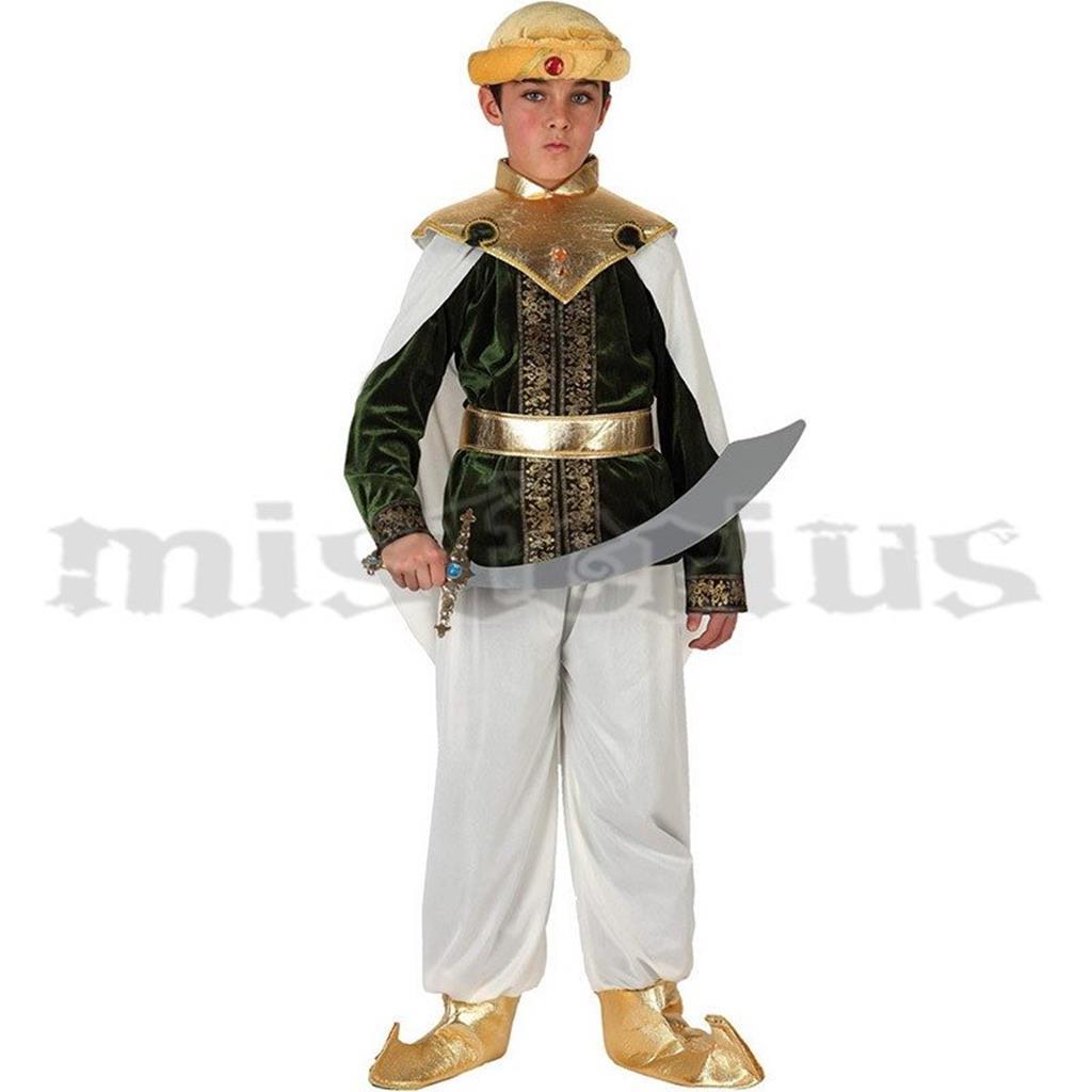 Fato Sultão Árabe, criança