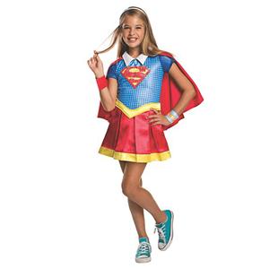 Fato Super Girl Deluxe