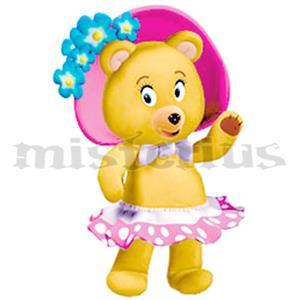 Fato Ursa Teresa Noddy, criança