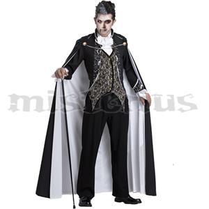 Fato Vampiro Preto