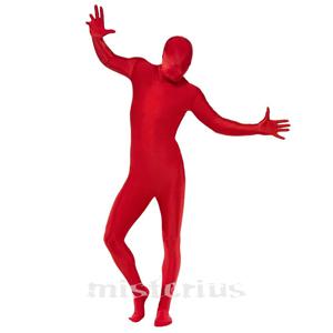 Fato Vermelho Elástico