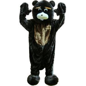 Fato Mascote Castor, adulto