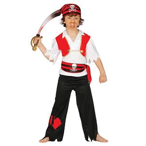 Fatos Pirata Caveira, Menino