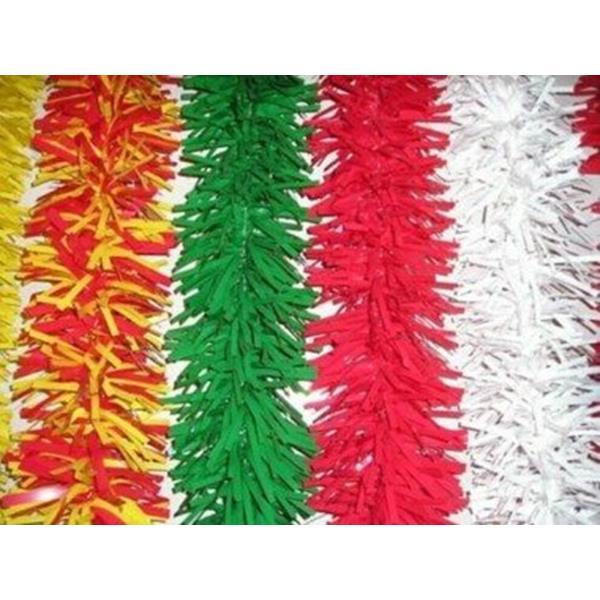 Festões Plástico, 12mt x 17cm - Festas Populares