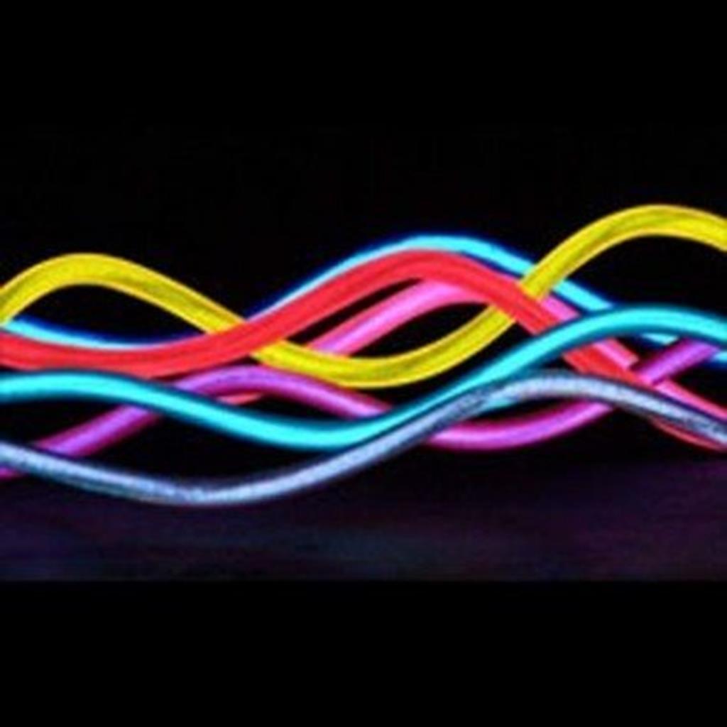 Fio neon el wire, 5mm