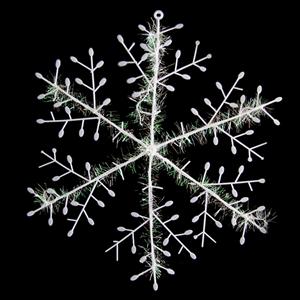 Flocos de Neve Decorativos, 2 un.