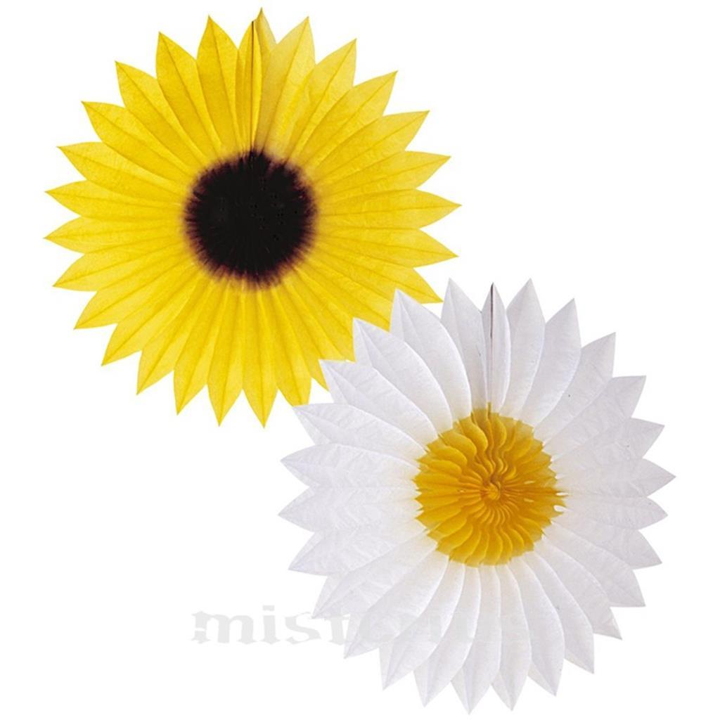 Flor Leque Papel 50 cm