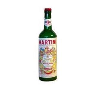 Garrafa Desaparição Martini Rossi (verde)