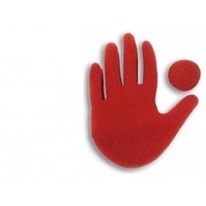 Grande Mão Vermelha -Big Red Hand