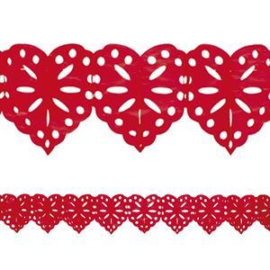 Grinalda Coração Troquelado