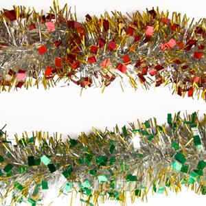 Grinalda Natal Metalizada, 2 mt