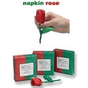 Guardanapos em Rosa - Napkin Rose