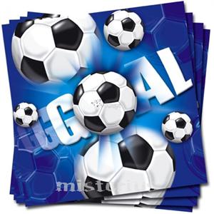 Guardanapos Futebol, 20 Unid.
