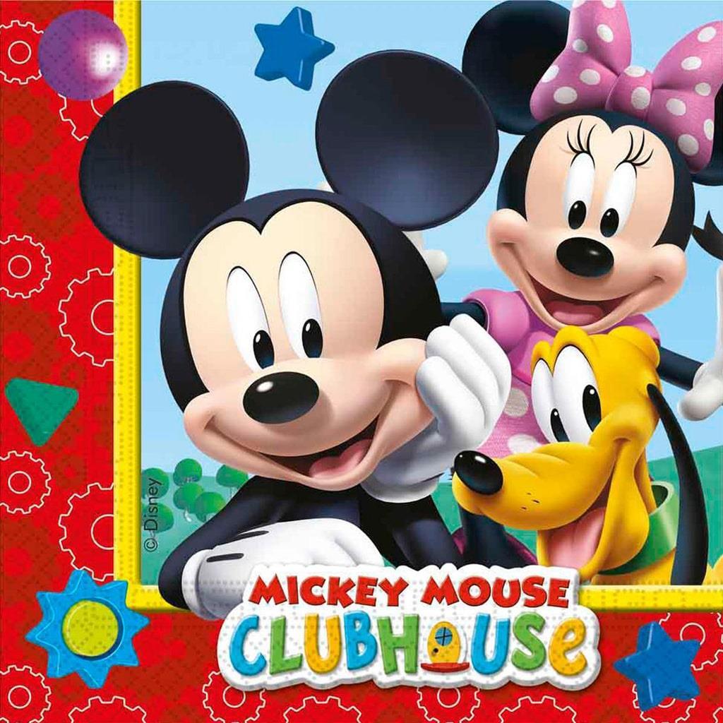 Guardanapos Mickey, 33 cm