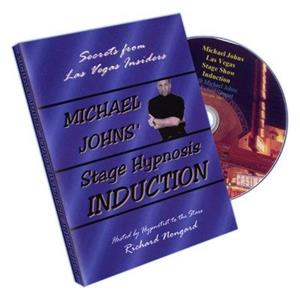 Hipnose de palco DVD, Stage Hypnosis Induction by Michael Jo