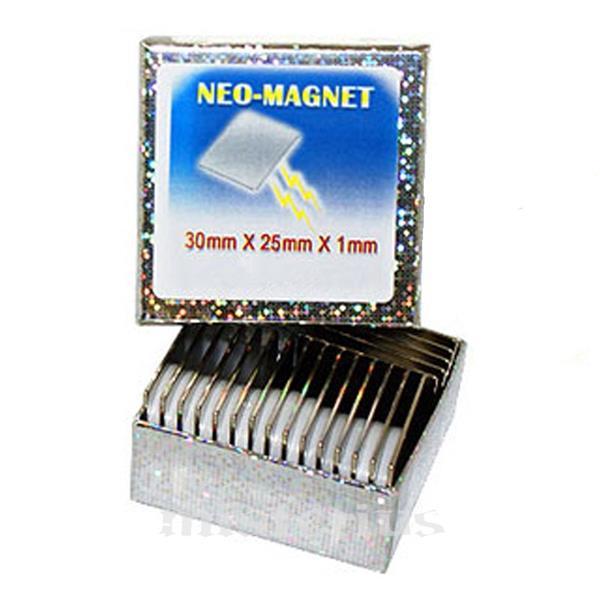 Iman Neodímio 30x25x1 mm