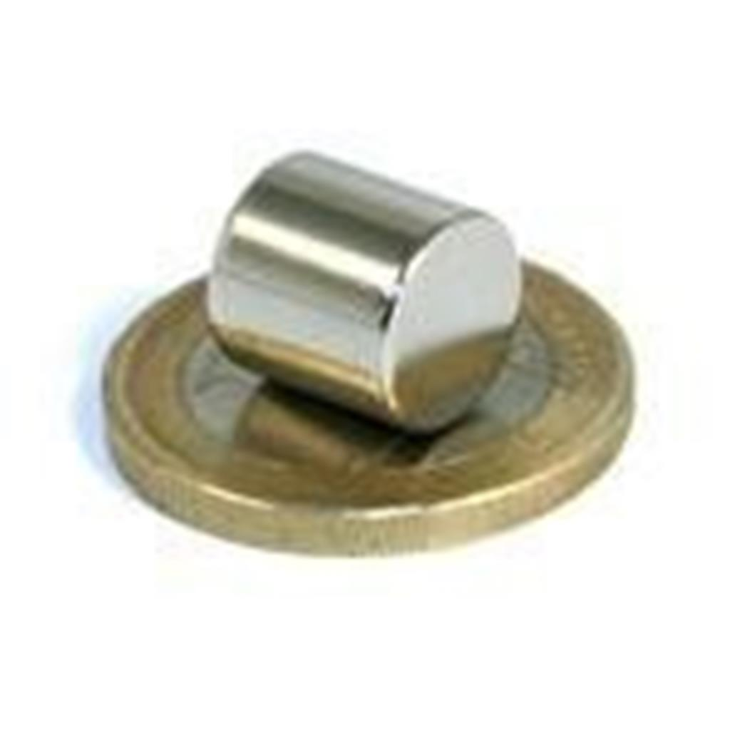 Imans Neodímio cilindrico 10x10 mm, Neodymium Magnet