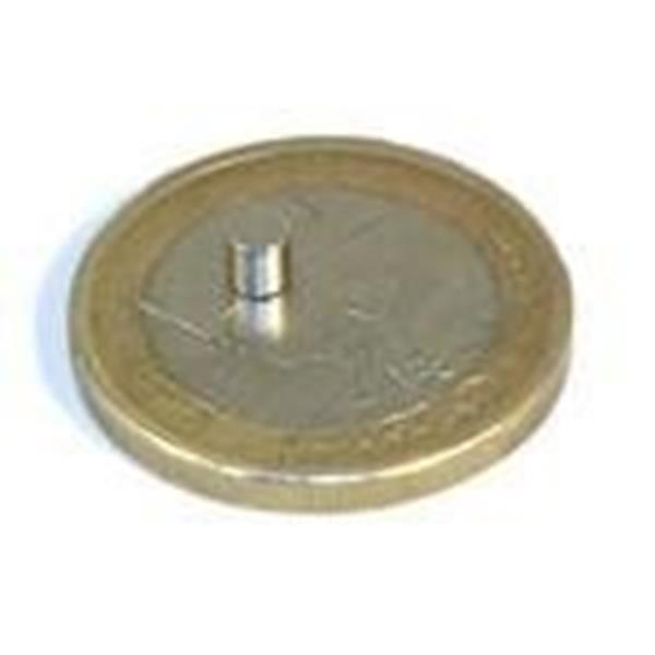 Imans Neodimio disco 5x3 mm, Neodymium Magnet