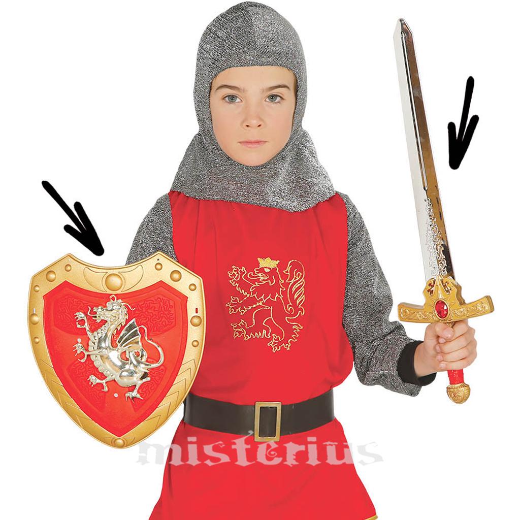 Kit Escudo e Espada Guerreiro