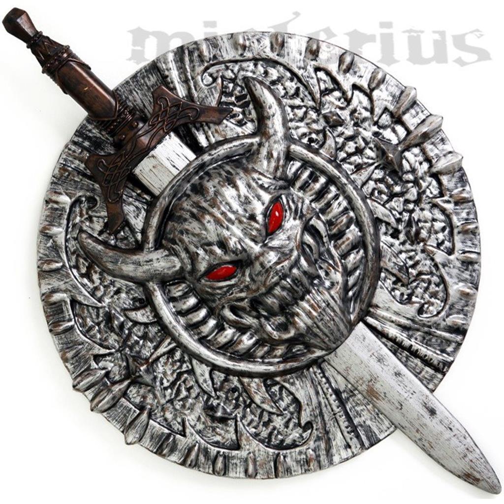 Kit Espada e Escudo Viking