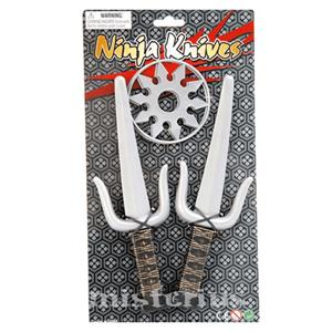 Kit Ninja Adagas e Shuriken