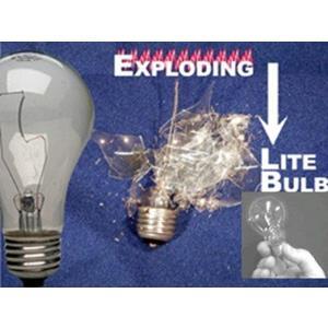 Lâmpada que explode -  Exploding light bulb