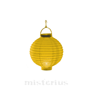 Lanterna Luminosa Amarela, 20 cm