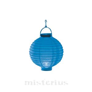 Lanterna Luminosa Azul 20 cm