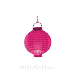 Lanterna Luminosa Rosa 20 cm