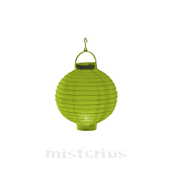 Lanterna Luminosa Verde 20 cm