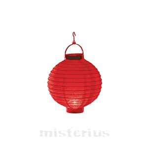 Lanterna Luminosa Vermelha 20 cm