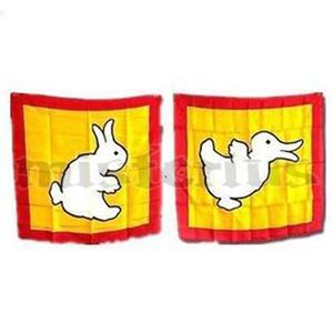 Lenço Pato em Coelho - Duck to Rabbit Silk com DVD