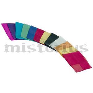 Lenço Seda Pura Italiana 22 cm - Silk Square