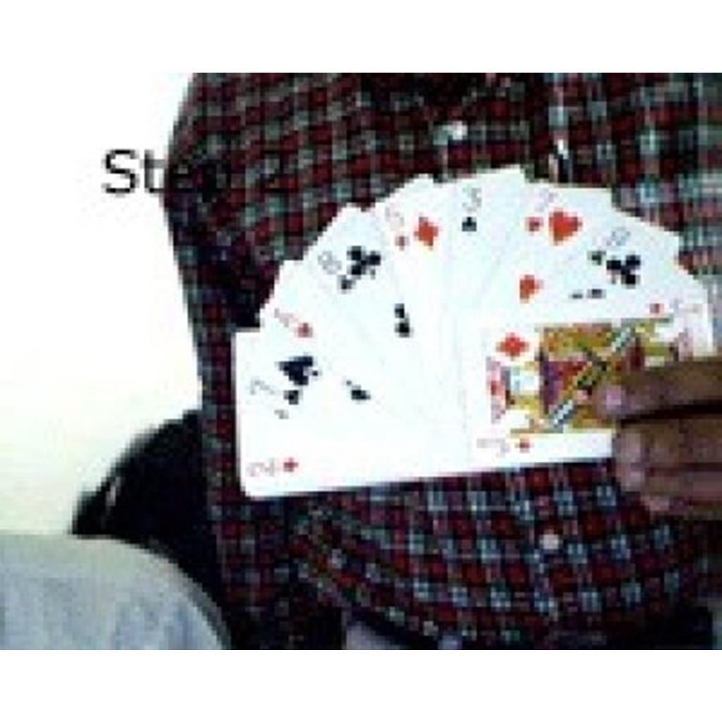 Leque de cartas Poker em Jumbo - Fan To See ;