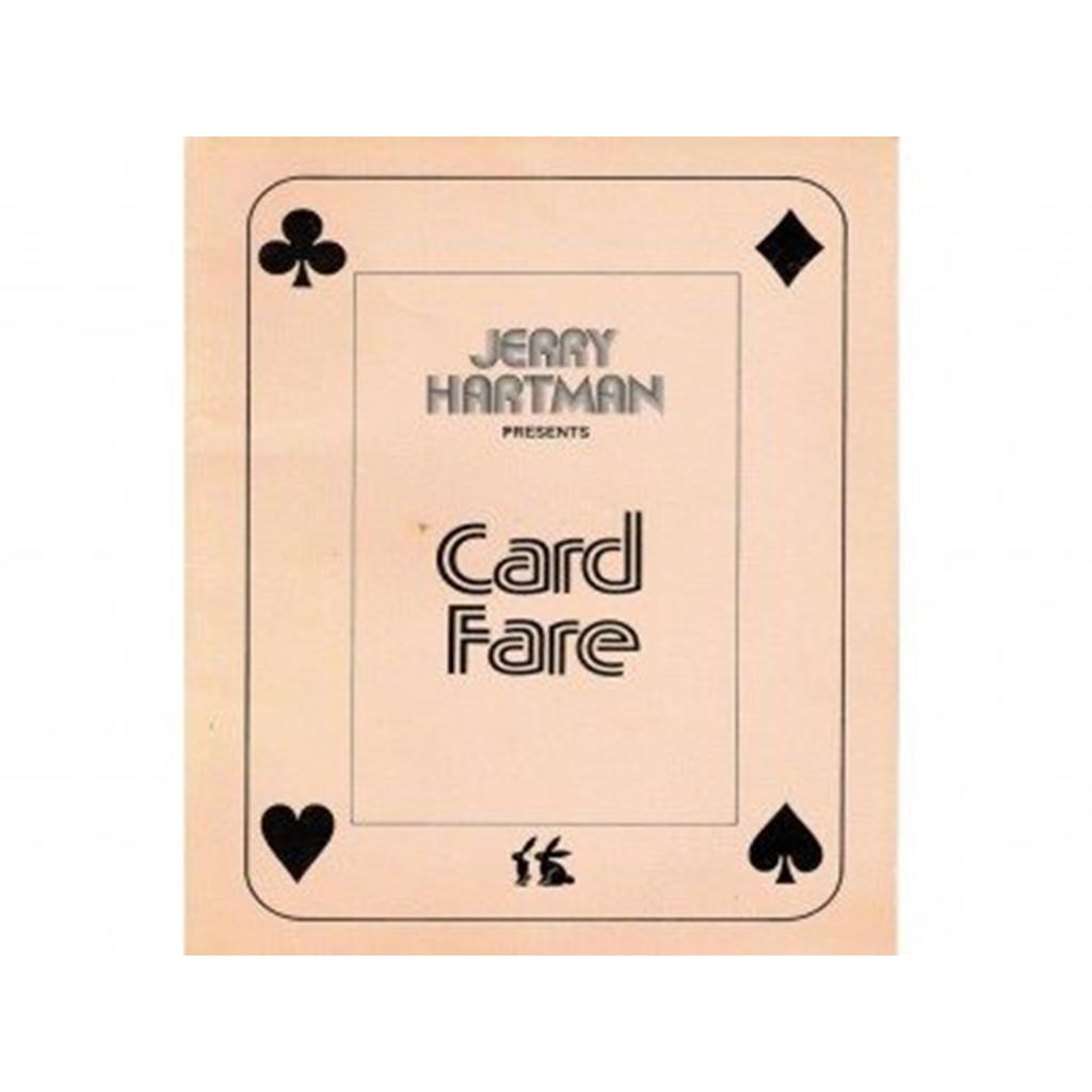 """Livros Cartão de tarifa-""""Card Fare""""-Jerry Hartman"""