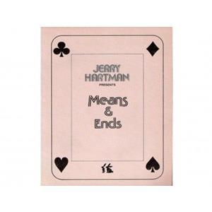 "Livros meios e fins-""Means e Ends""-Jerry Hartman"