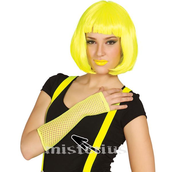 Luvas de Rede Amarelas
