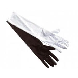 Luvas em algodão com 35 cm