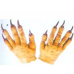 Mãos de Monstro Amarelas