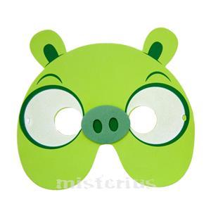 Máscara Angry Birds Verde