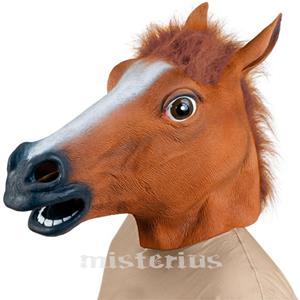 Máscara Cavalo Castanho