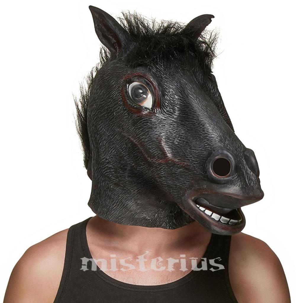 Máscara Cavalo Preto