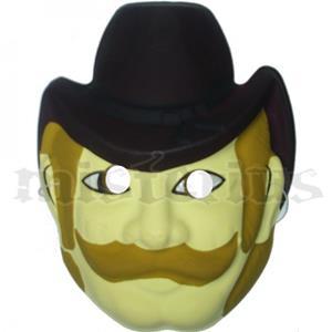 Máscara Cowboy
