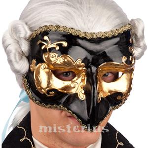 Máscara Dourada/Preta